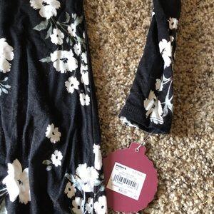 109c532885eb SO Dresses | Nwt Kohls Ft Black Long Sleeve Floral Dress | Poshmark